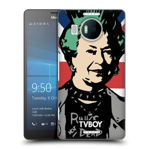 Plastové pouzdro na mobil Microsoft Lumia 950 XL HEAD CASE - TVBOY - Punková Královna