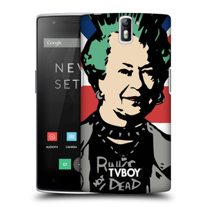 Plastové pouzdro na mobil OnePlus One HEAD CASE - TVBOY - Punková Královna