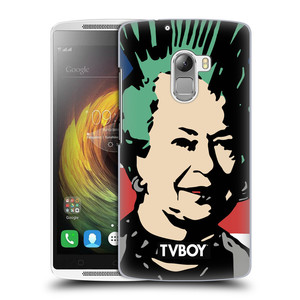 Plastové pouzdro na mobil Lenovo A7010 HEAD CASE - TVBOY - Punková Královna