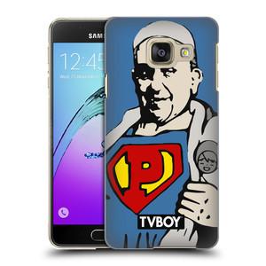 Plastové pouzdro na mobil Samsung Galaxy A3 (2016) HEAD CASE - TVBOY - Super Papež