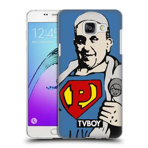 Plastové pouzdro na mobil Samsung Galaxy A5 (2016) HEAD CASE - TVBOY - Super Papež