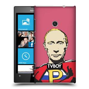 Plastové pouzdro na mobil Nokia Lumia 520 HEAD CASE - TVBOY - Super Putin