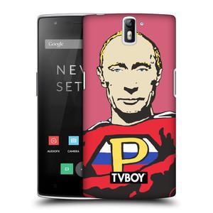 Plastové pouzdro na mobil OnePlus One HEAD CASE - TVBOY - Super Putin