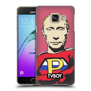 Plastové pouzdro na mobil Samsung Galaxy A3 (2016) HEAD CASE - TVBOY - Super Putin