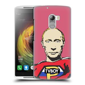 Plastové pouzdro na mobil Lenovo A7010 HEAD CASE - TVBOY - Super Putin