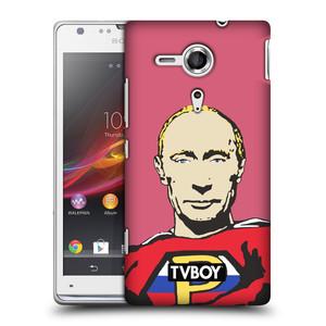 Plastové pouzdro na mobil Sony Xperia SP C5303 HEAD CASE - TVBOY - Super Putin
