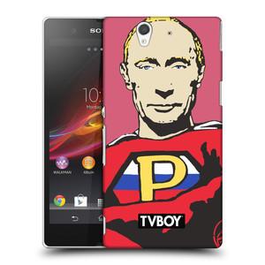 Plastové pouzdro na mobil Sony Xperia Z C6603 HEAD CASE - TVBOY - Super Putin