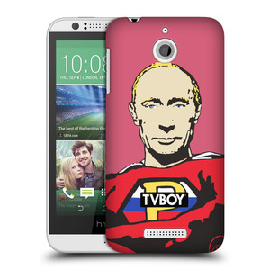 Plastové pouzdro na mobil HTC Desire 510 HEAD CASE - TVBOY - Super Putin