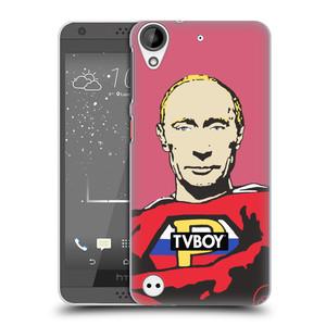 Plastové pouzdro na mobil HTC Desire 530 HEAD CASE - TVBOY - Super Putin