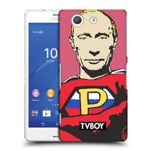 Plastové pouzdro na mobil Sony Xperia Z3 Compact D5803 HEAD CASE - TVBOY - Super Putin