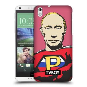 Plastové pouzdro na mobil HTC Desire 816 HEAD CASE - TVBOY - Super Putin