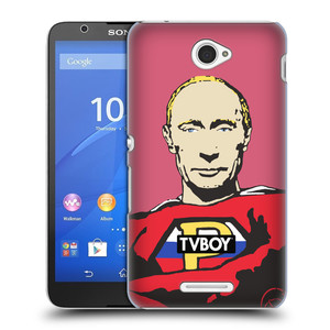 Plastové pouzdro na mobil Sony Xperia E4 E2105 HEAD CASE - TVBOY - Super Putin