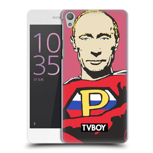 Plastové pouzdro na mobil Sony Xperia E5 HEAD CASE - TVBOY - Super Putin