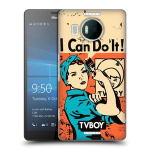 Plastové pouzdro na mobil Microsoft Lumia 950 XL HEAD CASE - TVBOY - I can do it