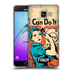 Plastové pouzdro na mobil Samsung Galaxy A3 (2016) HEAD CASE - TVBOY - I can do it