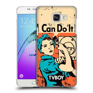 Plastové pouzdro na mobil Samsung Galaxy A5 (2016) HEAD CASE - TVBOY - I can do it