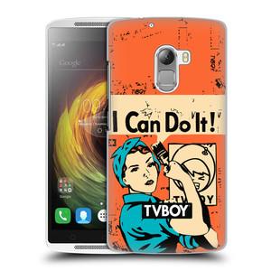 Plastové pouzdro na mobil Lenovo A7010 HEAD CASE - TVBOY - I can do it