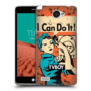 Plastové pouzdro na mobil LG Bello II HEAD CASE - TVBOY - I can do it