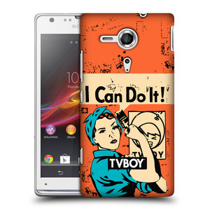 Plastové pouzdro na mobil Sony Xperia SP C5303 HEAD CASE - TVBOY - I can do it