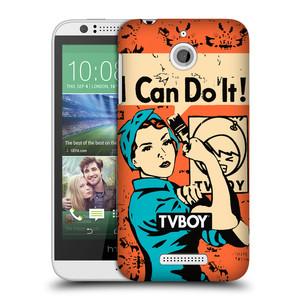 Plastové pouzdro na mobil HTC Desire 510 HEAD CASE - TVBOY - I can do it