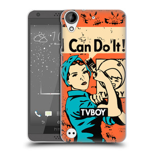 Plastové pouzdro na mobil HTC Desire 530 HEAD CASE - TVBOY - I can do it