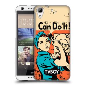 Plastové pouzdro na mobil HTC Desire 626 / 626G HEAD CASE - TVBOY - I can do it
