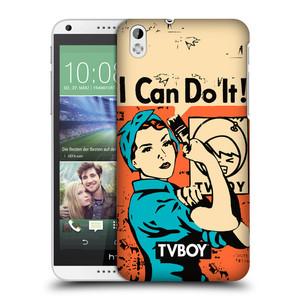 Plastové pouzdro na mobil HTC Desire 816 HEAD CASE - TVBOY - I can do it