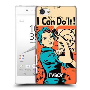 Plastové pouzdro na mobil Sony Xperia Z5 Compact HEAD CASE - TVBOY - I can do it