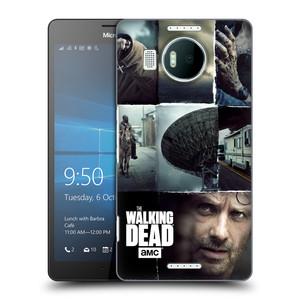 Plastové pouzdro na mobil Microsoft Lumia 950 XL HEAD CASE Živí mrtví - Koláž
