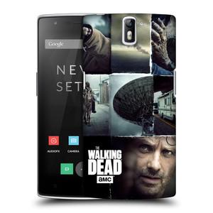 Plastové pouzdro na mobil OnePlus One HEAD CASE Živí mrtví - Koláž
