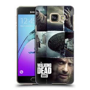 Plastové pouzdro na mobil Samsung Galaxy A3 (2016) HEAD CASE Živí mrtví - Koláž