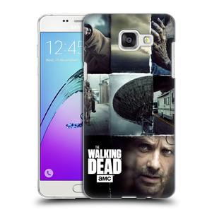 Plastové pouzdro na mobil Samsung Galaxy A5 (2016) HEAD CASE Živí mrtví - Koláž