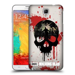 Plastové pouzdro na mobil Samsung Galaxy Note 3 Neo HEAD CASE Živí mrtví - Lebka