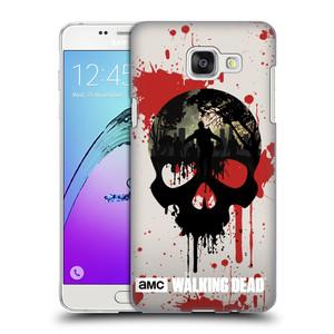 Plastové pouzdro na mobil Samsung Galaxy A5 (2016) HEAD CASE Živí mrtví - Lebka