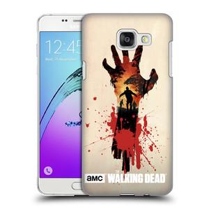 Plastové pouzdro na mobil Samsung Galaxy A5 (2016) HEAD CASE Živí mrtví - Ruka