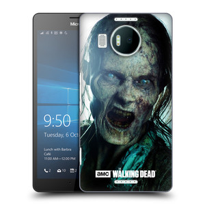 Plastové pouzdro na mobil Microsoft Lumia 950 XL HEAD CASE The Walking Dead - Walker Bite