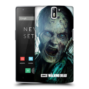 Plastové pouzdro na mobil OnePlus One HEAD CASE The Walking Dead - Walker Bite