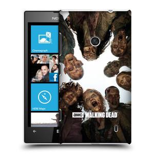 Plastové pouzdro na mobil Nokia Lumia 520 HEAD CASE Živí mrtví - Walkers Group