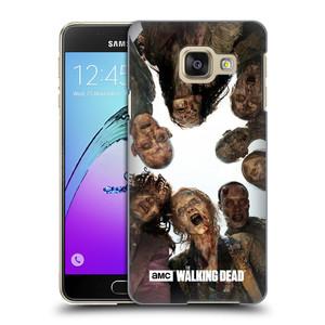 Plastové pouzdro na mobil Samsung Galaxy A3 (2016) HEAD CASE Živí mrtví - Walkers Group