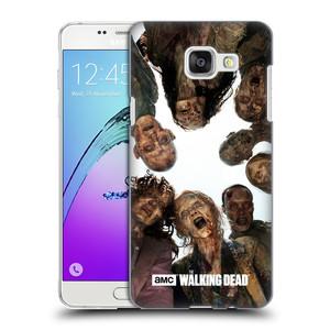 Plastové pouzdro na mobil Samsung Galaxy A5 (2016) HEAD CASE Živí mrtví - Walkers Group