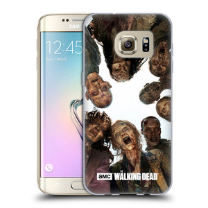 Silikonové pouzdro na mobil Samsung Galaxy S7 Edge HEAD CASE Živí mrtví - Walkers Group