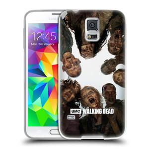 Silikonové pouzdro na mobil Samsung Galaxy S5 HEAD CASE Živí mrtví - Walkers Group
