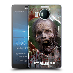 Plastové pouzdro na mobil Microsoft Lumia 950 XL HEAD CASE The Walking Dead - Walkers Jaw
