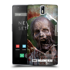 Plastové pouzdro na mobil OnePlus One HEAD CASE The Walking Dead - Walkers Jaw