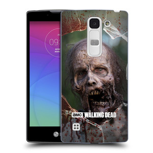 Plastové pouzdro na mobil LG Spirit LTE HEAD CASE The Walking Dead - Walkers Jaw
