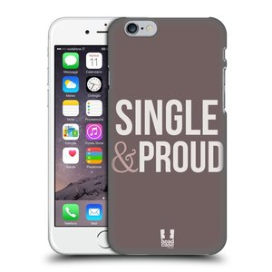 Plastové pouzdro na mobil Apple iPhone 6 a 6S HEAD CASE SINGLE AND PROUD