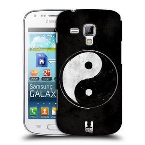 Plastové pouzdro na mobil Samsung Galaxy S Duos HEAD CASE Yin a Yang  BW