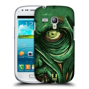 Plastové pouzdro na mobil Samsung Galaxy S3 Mini VE HEAD CASE ZOMBIE TVÁŘ