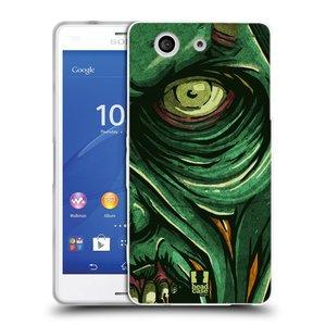 Silikonové pouzdro na mobil Sony Xperia Z3 Compact D5803 HEAD CASE ZOMBIE TVÁŘ