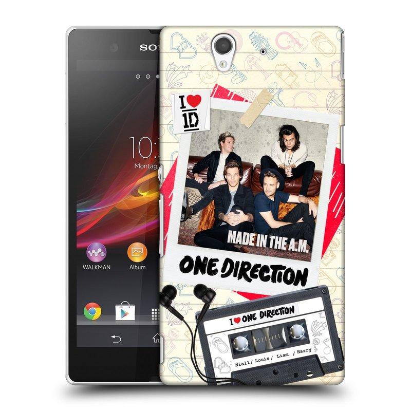 Plastové pouzdro na mobil Sony Xperia Z C6603 HEAD CASE One Direction - Kazeta (Kryt či obal One Direction Official na mobilní telefon Sony Xperia Z)